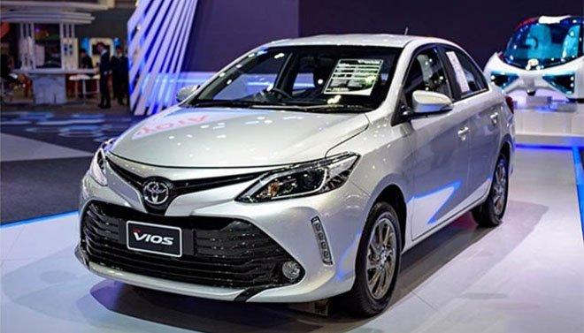Bảng giá xe toyota 2018 cập nhật mới nhất chỉ từ 668 triệu đồng