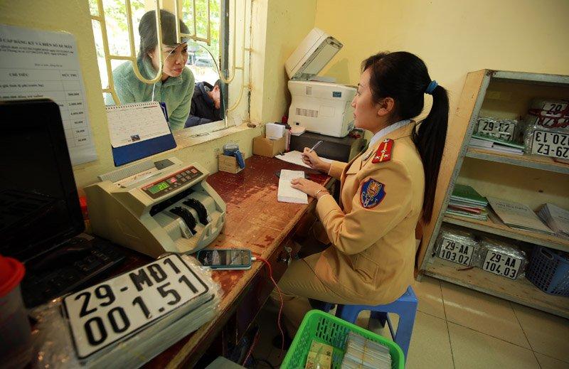 Thủ tục đăng ký biển số xe máy nhập khẩu chi tiết