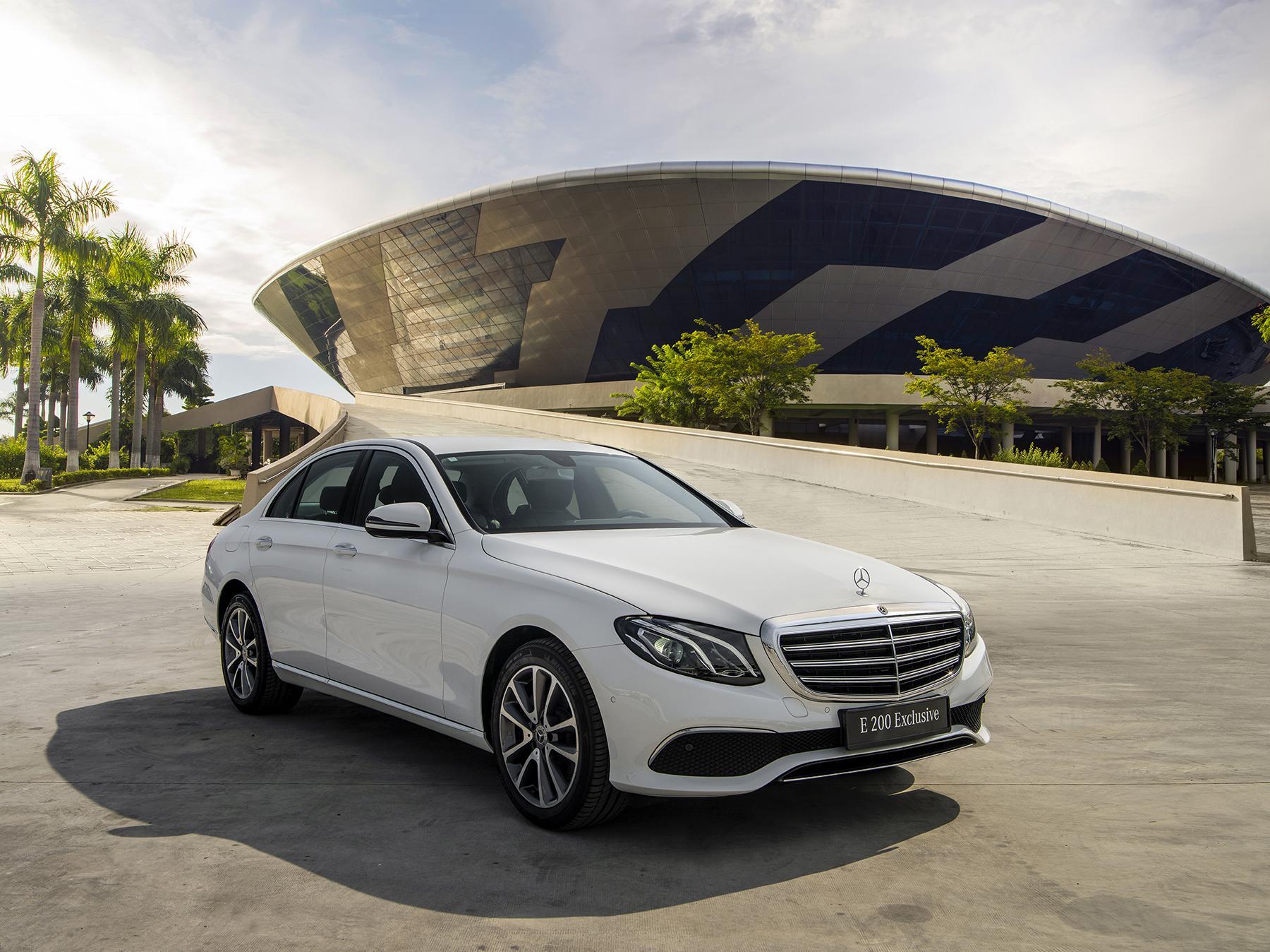 Mercedes-Benz E200 Exclusive