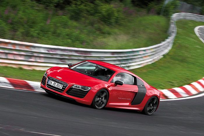 Audi R8 E-tron chỉ dừng lại ở mức tạo điểm nhấn