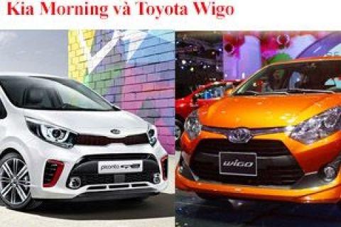 So sánh Kia Morning và Toyota Wigo - Kỳ phùng địch thủ bất phân thắng bại