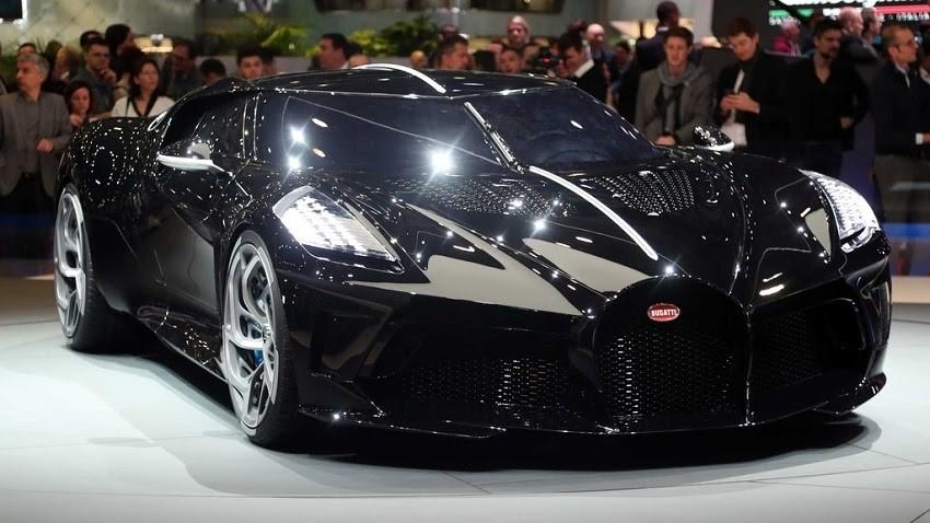 Siêu xe đắt nhất thế giới hiện tại - Bugatti La Voatio Noire