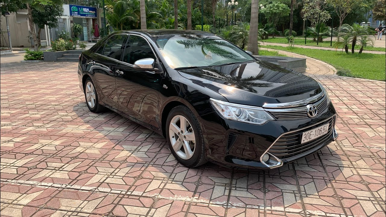 Camry 2.5Q 2015 - Toyota Camry cũ 2015 - LH: 091.772.5555 Song Thảo - YouTube