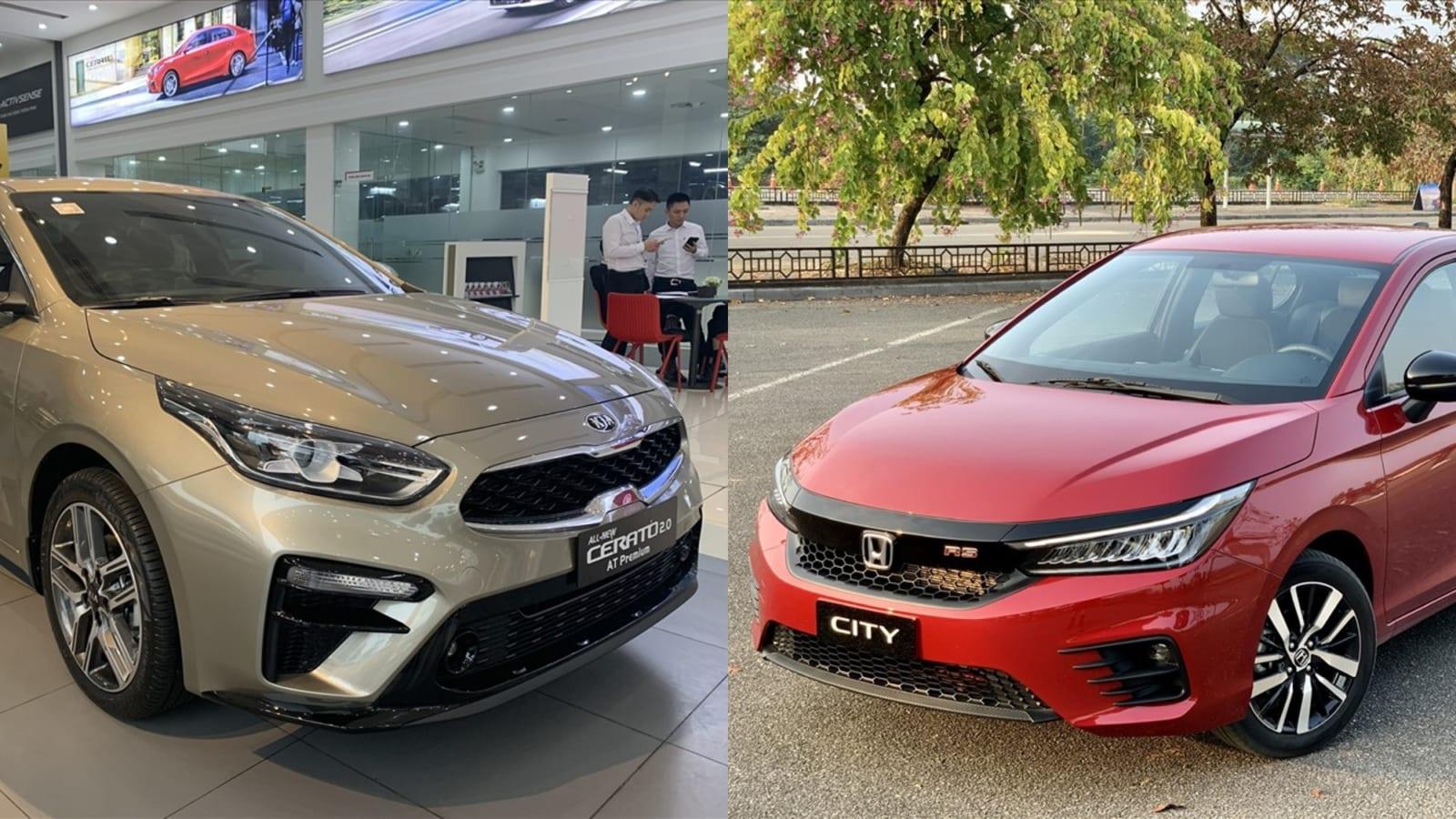 So sánh xe Honda City và Kia Cerato